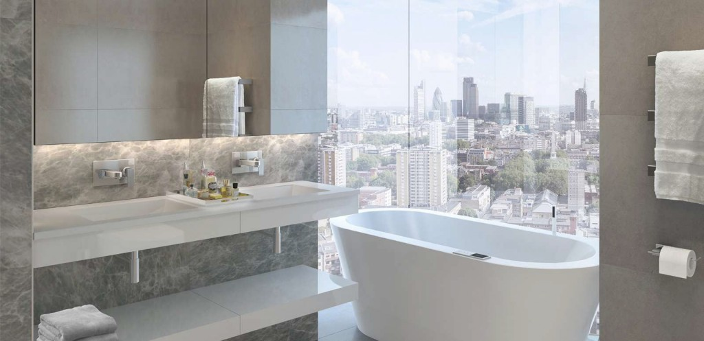 New homes with best views of london buildington blog for Best bathrooms on the road
