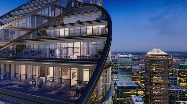 spire london penthouses