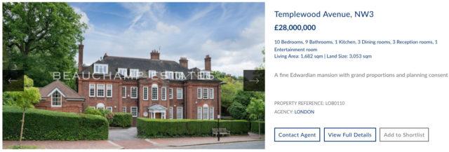 templewood avenue development for sale beauchamp estates