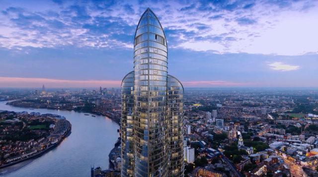 spire london tower