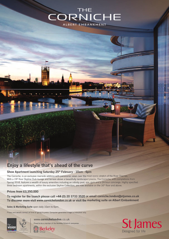 the corniche se1 development ad