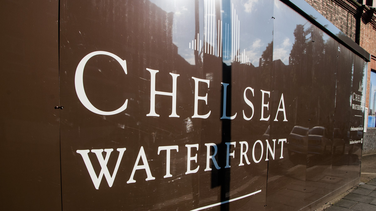 chelsea waterfront development in chelsea london sw10