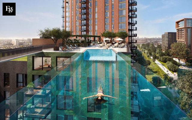 15 new london residential developments with swimming pools - Apartments with swimming pool london ...