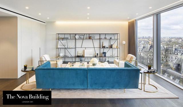 Nova building interior design by flint