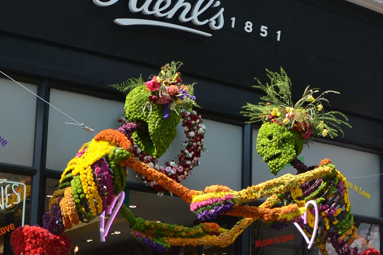 Chelsea Flower Show May 2018 Kings Road Kiehls
