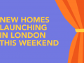 New homes launching in London this weekend: Douglass Tower E14 and Filmworks W5