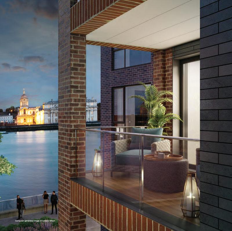 calders wharf development prp architects