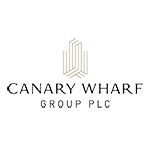 london developer canary wharf group logo