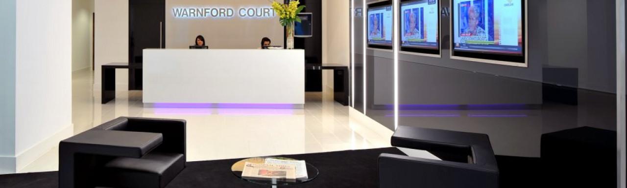 Warnford Court Reception