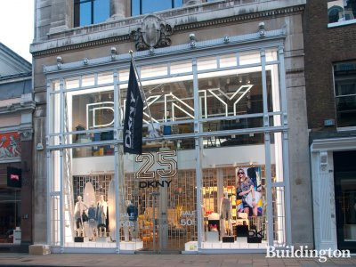 DKNY at 27 Old Bond Street in Mayfair, London W1.