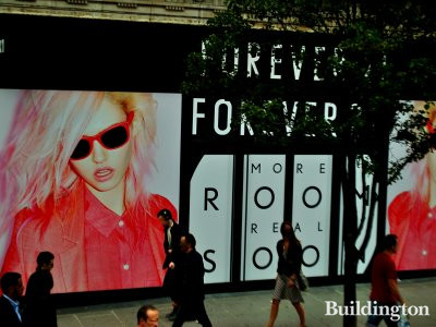 Forever 21 expands to the former Desigual store at 360-366 Oxford Street
