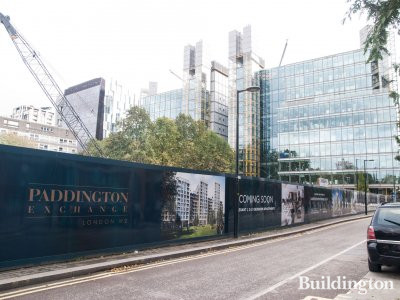 Paddington Exchange development and Waterside Building.
