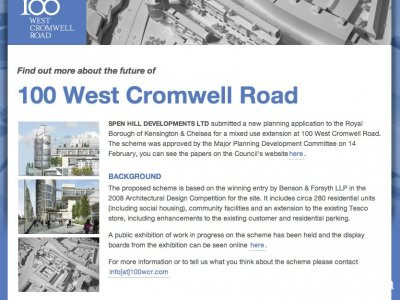 100 West Cromwell Road