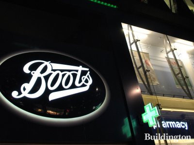 Boots at 187-195 Oxford Street.