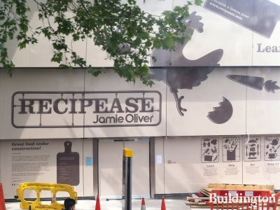 Jamie Oliver's Recipease coming soon to United House at 92-94 Notting Hill Gate.