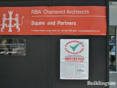 8-10 Hanover Street development by RIBA Chartered Architects and Considerate Constructors.