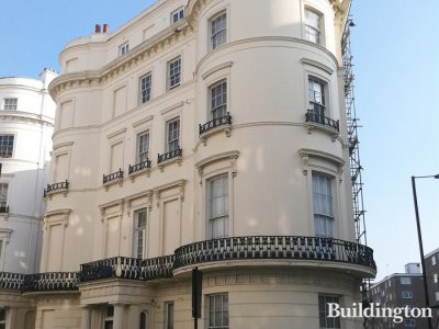 8 Westbourne Crescent in Bayswater, London W2.