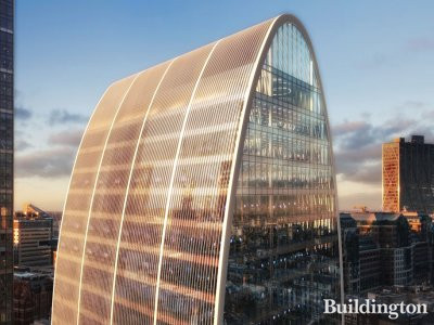 CGI of Seventy St Mary Axe