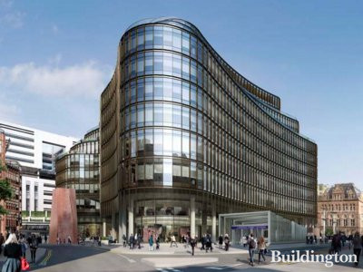 CGI of 100 Liverpool Street
