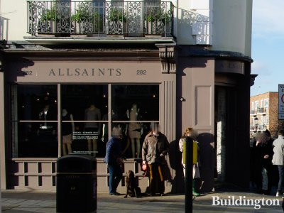 All Saints store at 282 Westbourne Grove