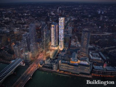 CGI of the proposed building at 18 Blackfriars Road