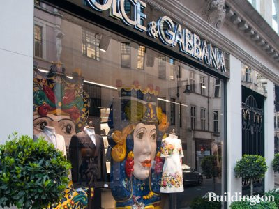 Dolce & Gabbana store at 6-8 Old Bond Street