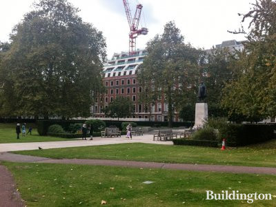 Twenty Grosvenor Square, view from the square