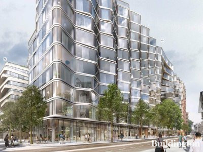 Screen capture of the proposed building visuals at acme.ca