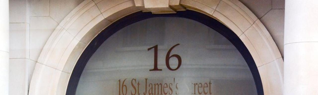 16 St James's Street