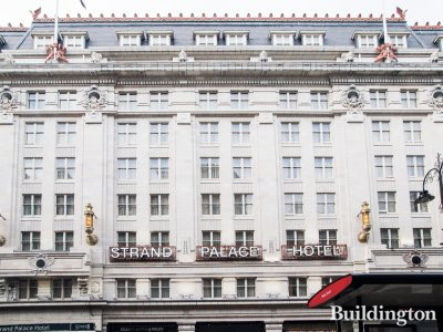 Strand Palace Hotel on the Strand in London WC2