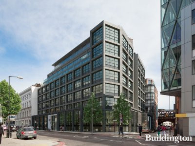 61 Southwark Street CGI on HB Reavis website hbreavis.com; screen capture.