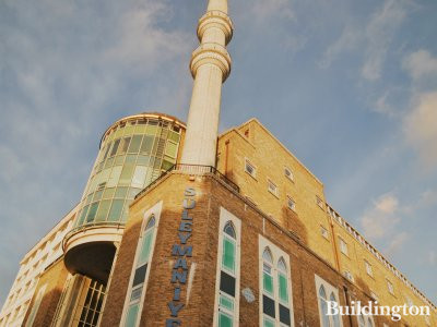 Süleymaniye Mosque on Kingsland Road in 2013