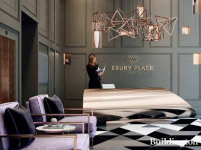 Ebury Place lounge CGI in th development brochure at taylorwimpeycentrallondon.com; screen capture.