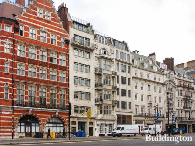 62-63 Pall Mall buildings in 2011