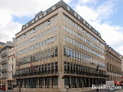 36-39 Pall Mall building in St James's, London SW1
