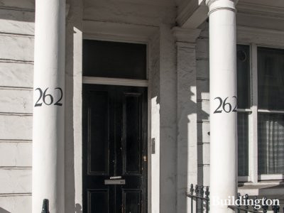 Entrance 262 Gloucester Terrace in 2014