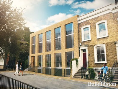 Merchants Hall CGI on Martin's Properties website at martins-properties.co.uk; screen capture