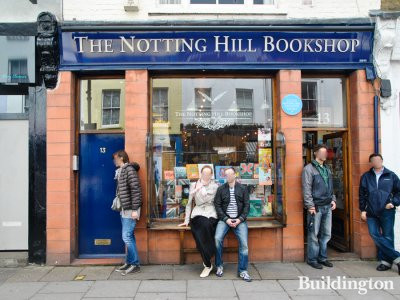 The Notting Hill Bookshop at 13 Blenheim Crescent in May 2014