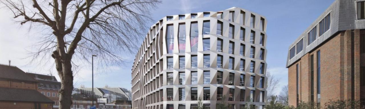 New Hounslow Civic Centre CGI at sheppardrobson.com; screen capture
