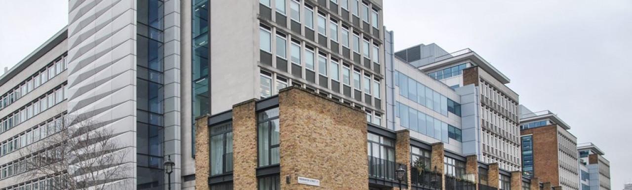 Rodmarton Street houses in January 2014