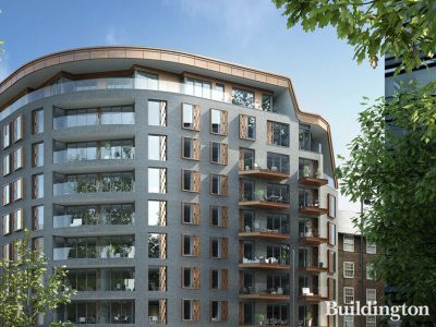Palace View apartment building CGI