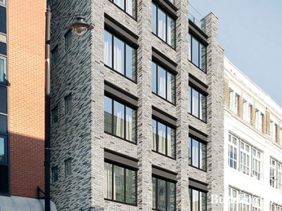 CGI of The Hudson development on Curtain Road.