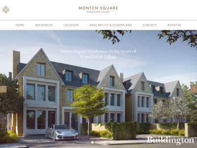 Montem Square website screen capture.