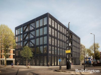 1-7 Dace Road CGI, one of the buildings designed by BuckleyGrayYeoman; screen capture