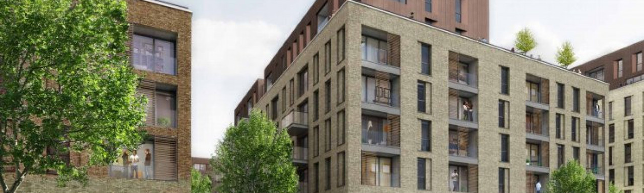 1-8 Capitol Way CGI on development proposals at capitolwaynw9.co.uk