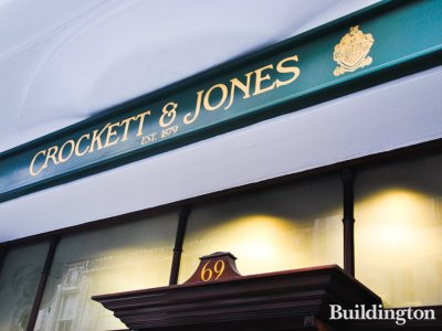 Crockett & Jones at 69 Jermyn Street in 2013