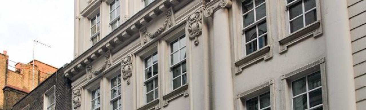 85-87 Jermyn Street building in 2013