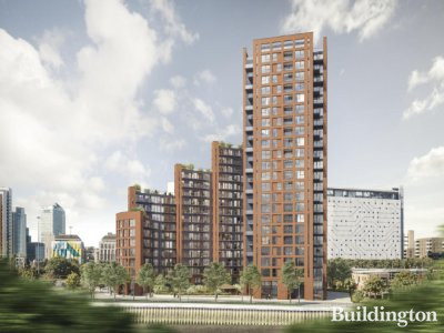 Orchard Wharf by Galliard