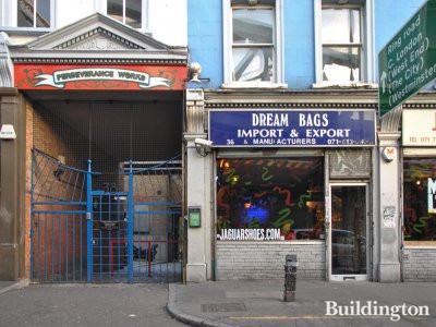 Dream Bags Import & Export & Manufacturers at 36 Kingsland Road in 2013