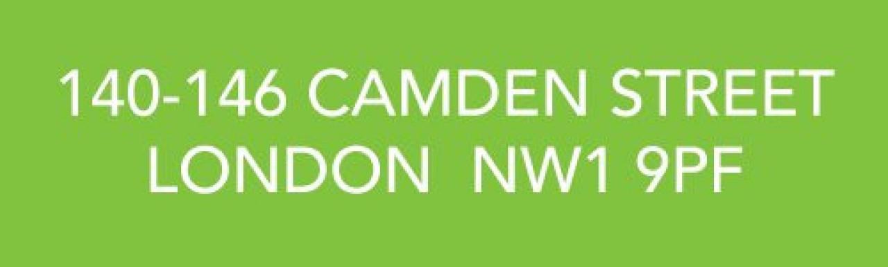 140-146 Camden Street development in London NW1.